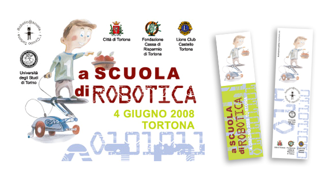 Meeting di Robotica - design by Andrea Franzosi, franzroom.net