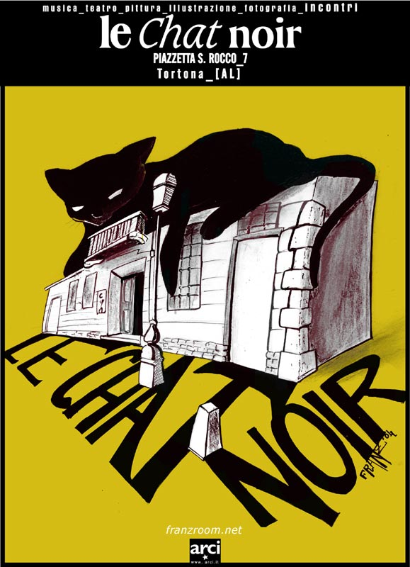 logo le chat noir by franzroom Andrea Franzosi