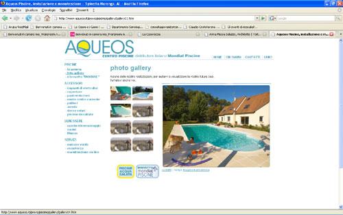 Aqueos website
