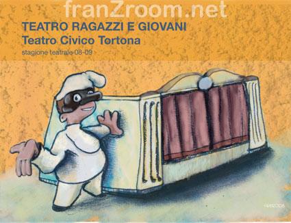 Cover TeatroRagazzi, Andrea Franzosi - franzroom.net