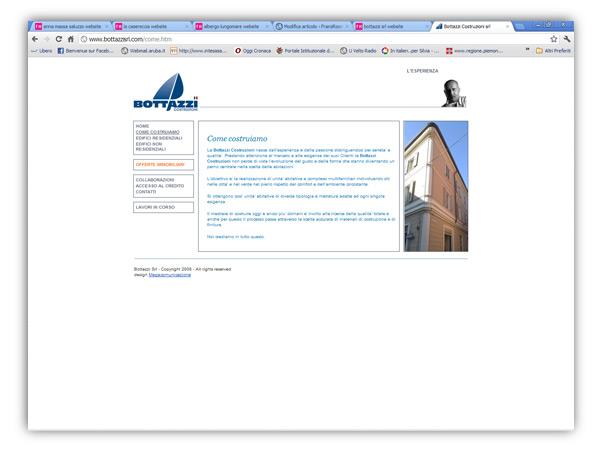 Bottazzi srl website