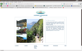 Albergo Lungomare website