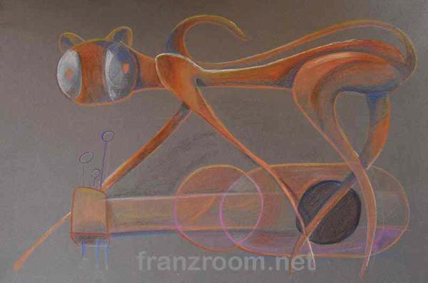 Gatto Pastello - Andrea Franzosi, franzroom.net