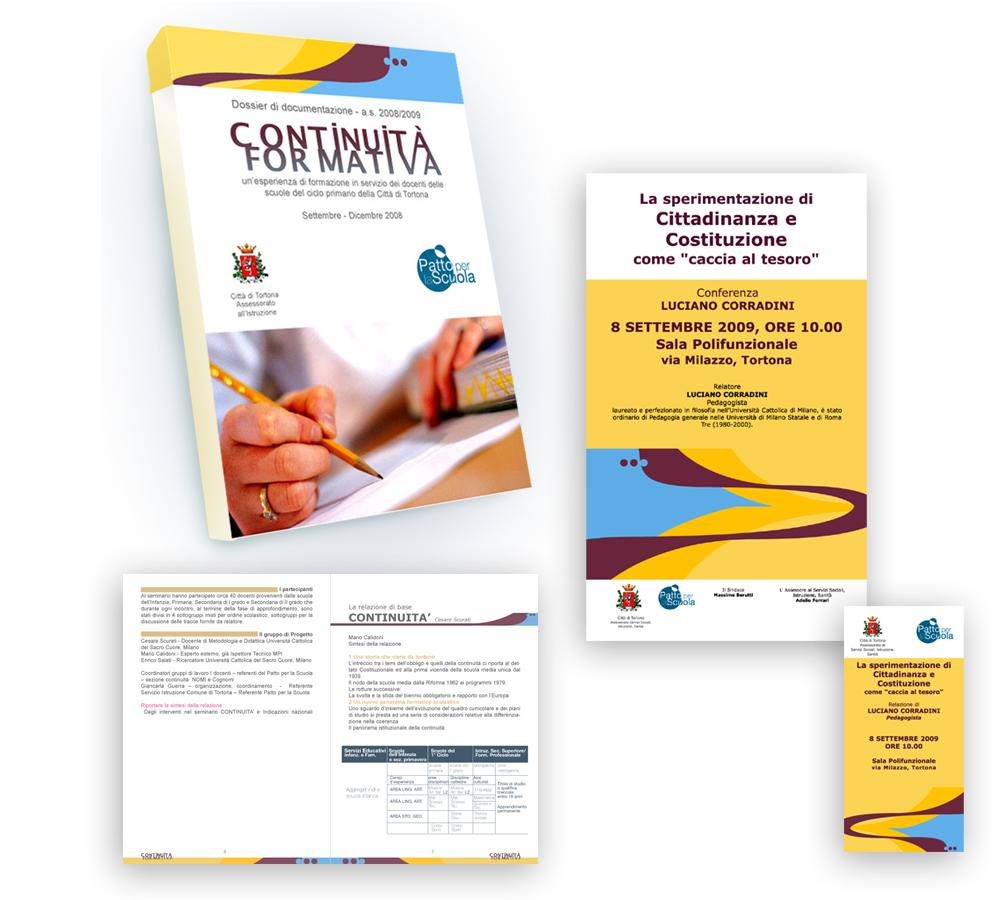 Continuità Formativa - Comune di Tortona, Ufficio Servizi Educativi - visual by FranzRoom.net