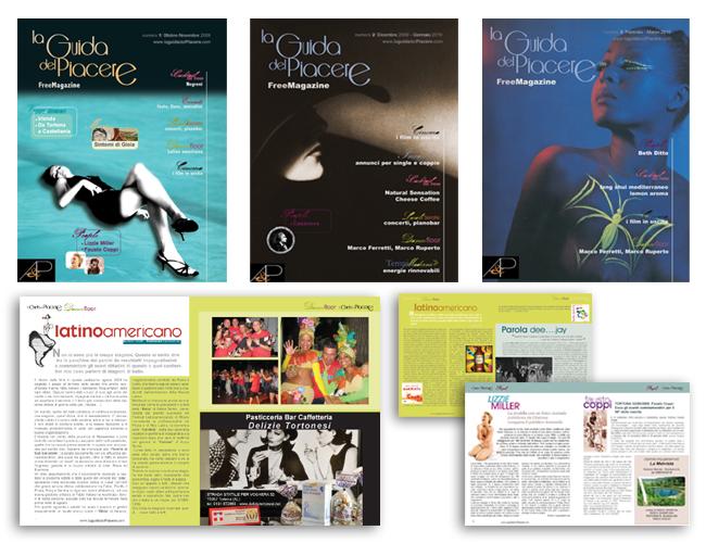 La Guida del Piacere Free Press - Layout grafico ed impaginazione by Andrea Franzosi, franzroom.net