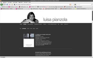 <em>Luisa Pianzola</em> website