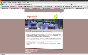 <em>La Ginestrella</em> website