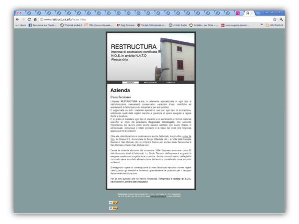 <em>Restructura website</em>