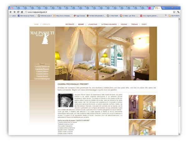 Locanda Malpassuti website