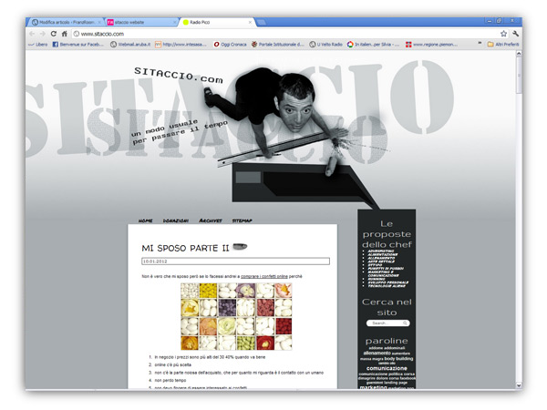 Sitaccio website