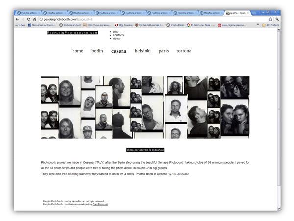 <em> People in Photobooth</em>  website