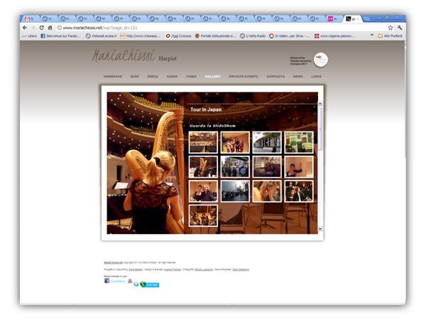 <em>Maria Chiossi</em>  website