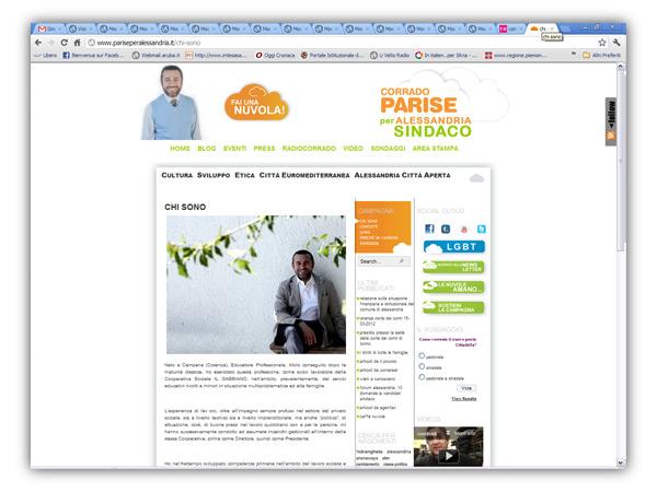 </em>Corrado Parise</em>  website