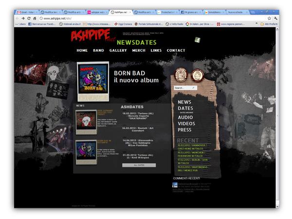 ashpipe Website by franzroom.net