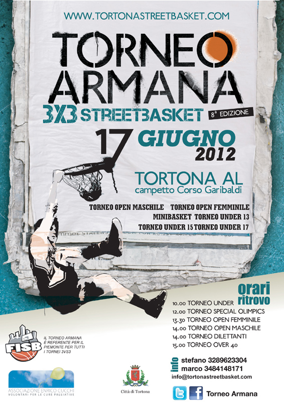Torneo Armana2012 flyer by franzRoom.net