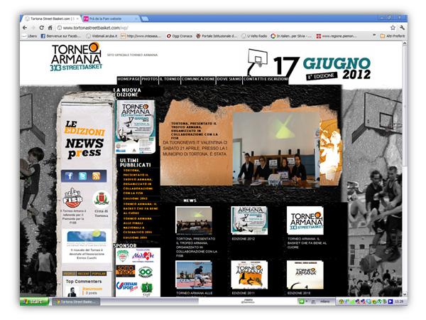 <em>Torneo Armana</em> website