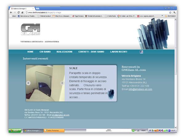 <em>GM Glass</em>  website