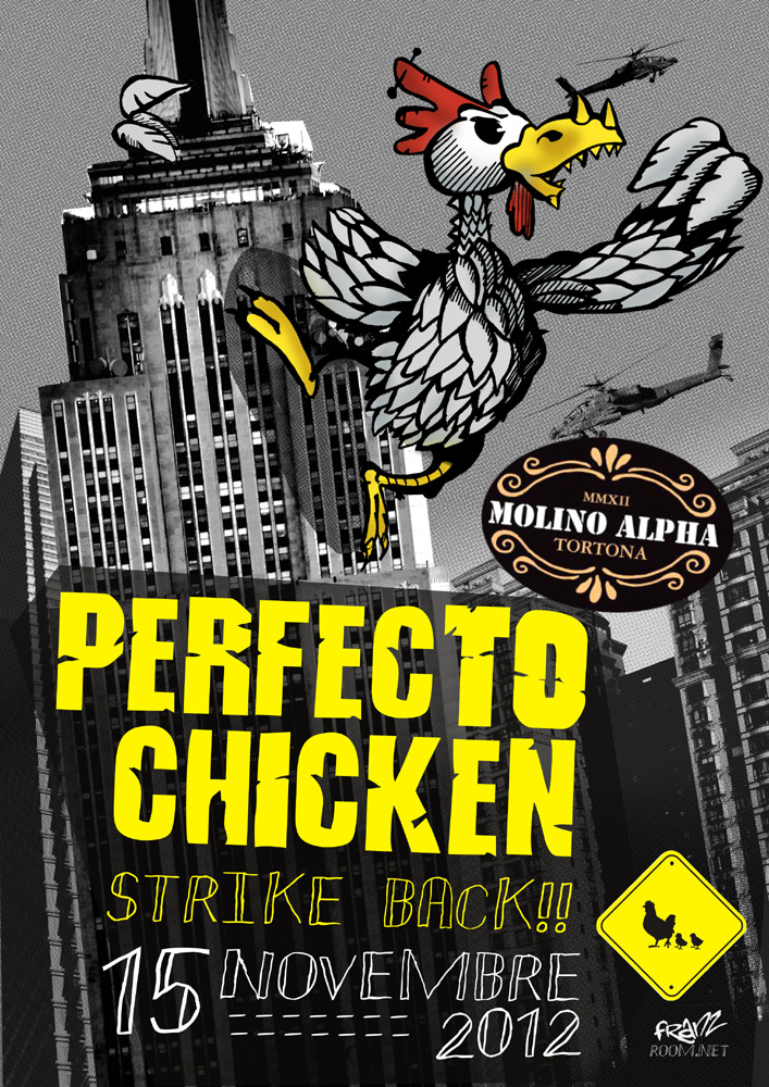 Poster Perfecto Chicken