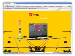 Dadatra website by franzRoom.net
