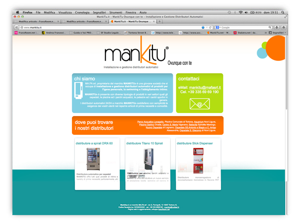 mankitu website by franzRoom.net