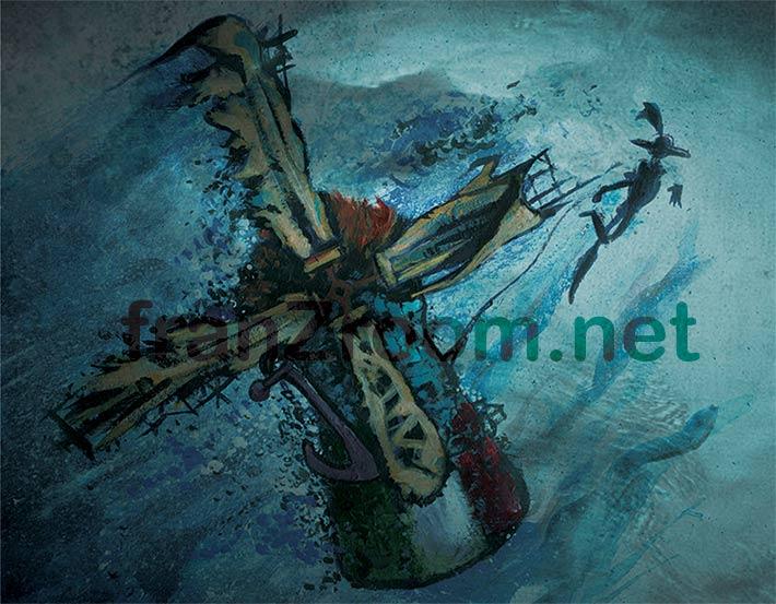 Ashpipe, Ancorati - Artwork by Andrea Franzosi franzRoom.net
