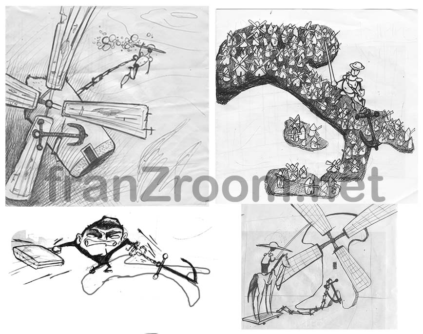 Ashpipe Ancorati - cover scketches franzRoom.net - Andrea Franzosi