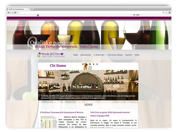 Strada dei Vini Colli Tortonesi - website by franzRoom.net