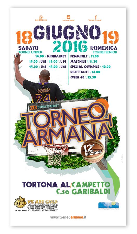 Torneo Armana 2016 preLocandina