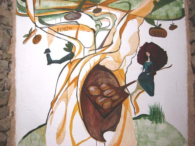 L'Albero del Pane, dettaglio - Decorazione @Cuore di Pane - Andrea Franzosi - www.franZroom.net