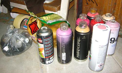 100 Giri in lavorazione, spray e patate - franzRoom.net