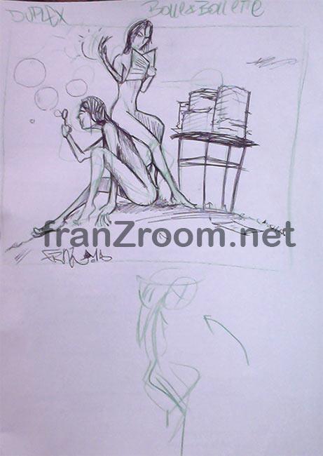 Duplex - primi schizzi - franzRoom.net