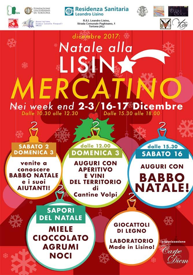 Mercatino di Natale Lisino - Locandina, franZroom.net