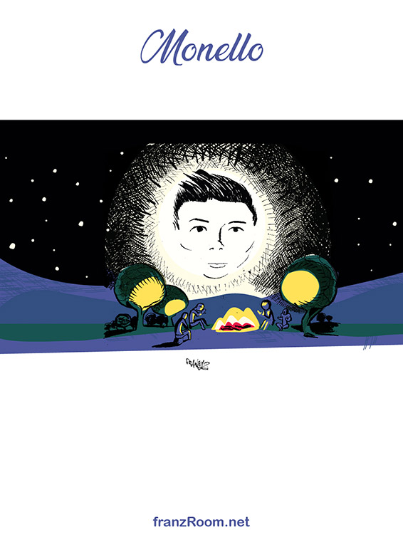 Monello, illustrazioni OltrE il Po - franZroom.net