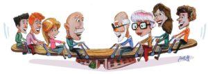 Convegno Generazioni in Alternanza - illustrazione - Andrea Franzosi, franZroom.net