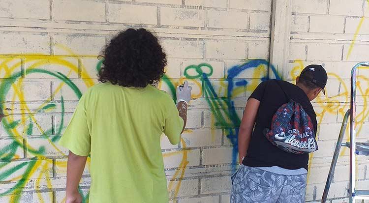 2019 - Laboratorio Murale per La Fenice - luglio - franZroom.net