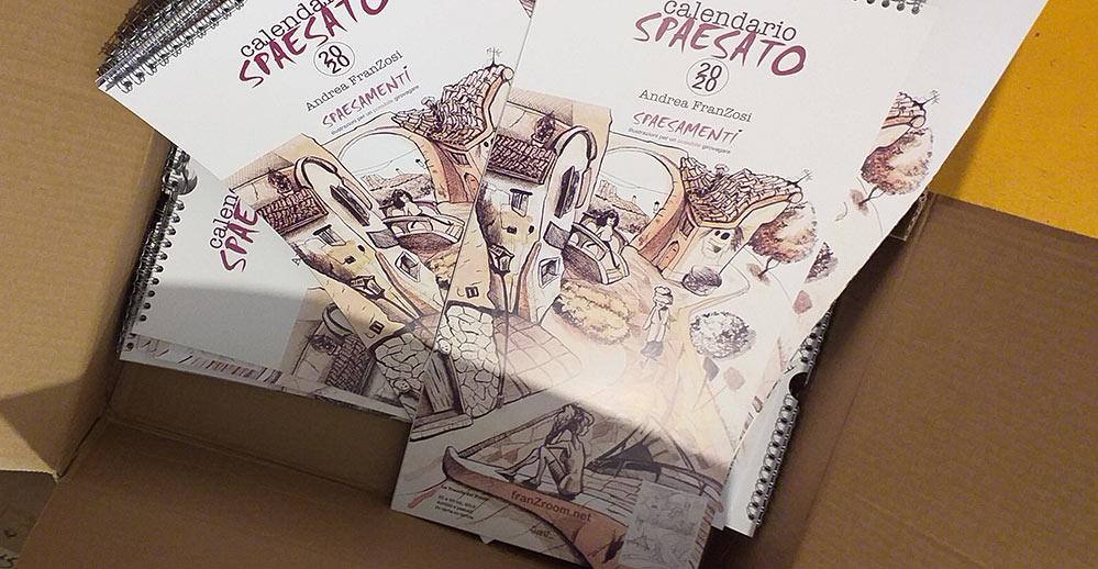 CalendariO SpaesatO 2020 alla Libreria Namastè - franZroom.net