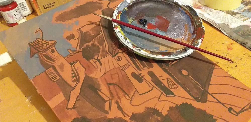 Spaesamenti da CalendariO 2020, disegni in corsO - Andrea FranZosi, franZroom.net