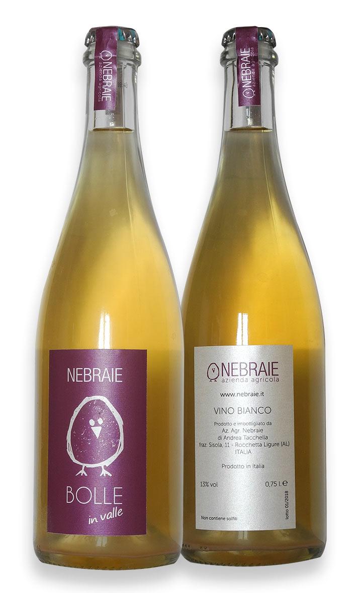 Nebraie, design etichetta Bolle in Valle - franZroom.net