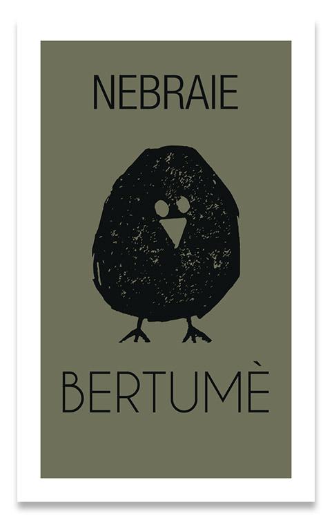 Nebraie, design etichetta Bertumè - franZroom.net