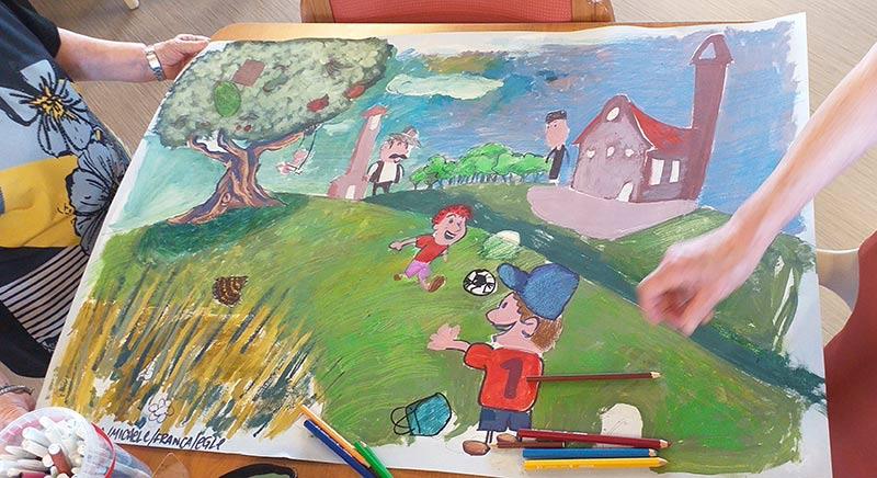 illustrazione in corso