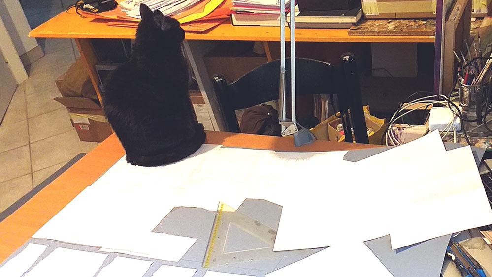 PaolO e stencilS - LavorInCorso - pannelli decorativi, franZroom.net
