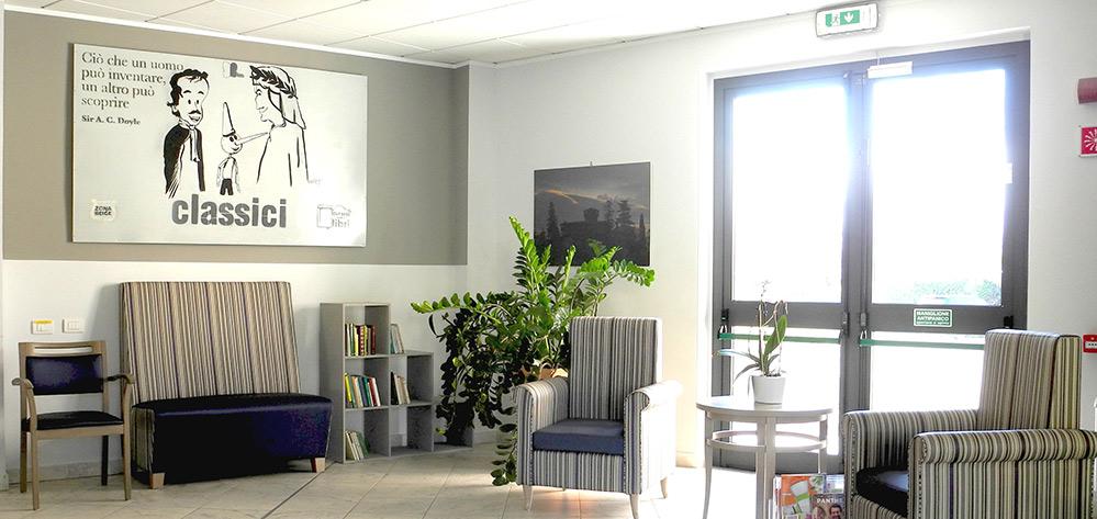 Curarsi con i Libri, pannelli decorativi a spray e acrilico, Andrea FranZosi - franZroom.net