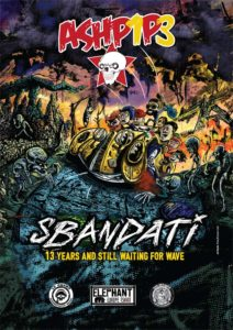 artWork Sbandati, Ashpipe - Poster illustrato by Andrea Franzosi - franZroom.net