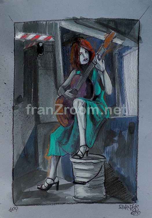 SublimAbbandono - illustration by Andrea Franzosi, franZroom.net