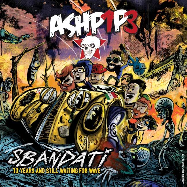 artWork Sbandati, Ashpipe - CD cover by Andrea Franzosi - franZroom.net