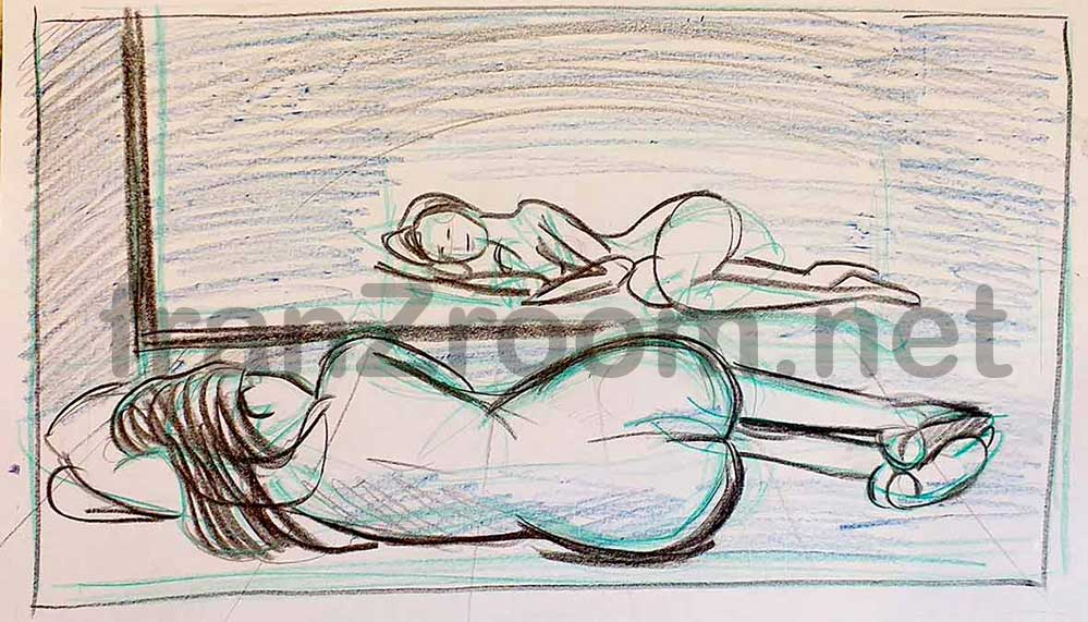 Bozzetti Nudo Allo SpecchiO - franZroom.net