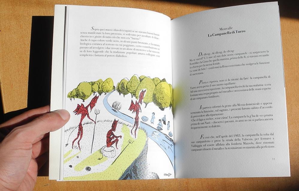 Libro illustrato Le fiabe del Lago Cromatico 2020 - Andrea FranZosi franZroom.net