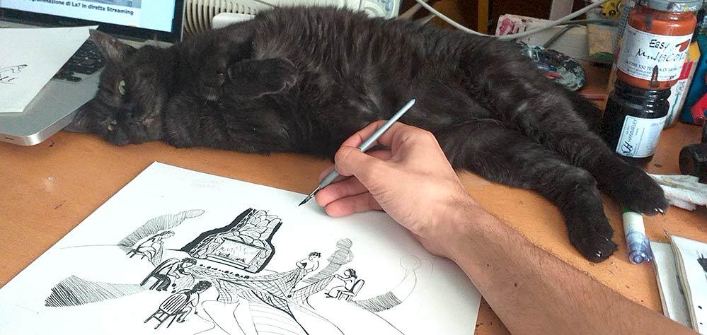 PaolO sovrintende le illustrazioni - Andrea Franzosi franZroom.net