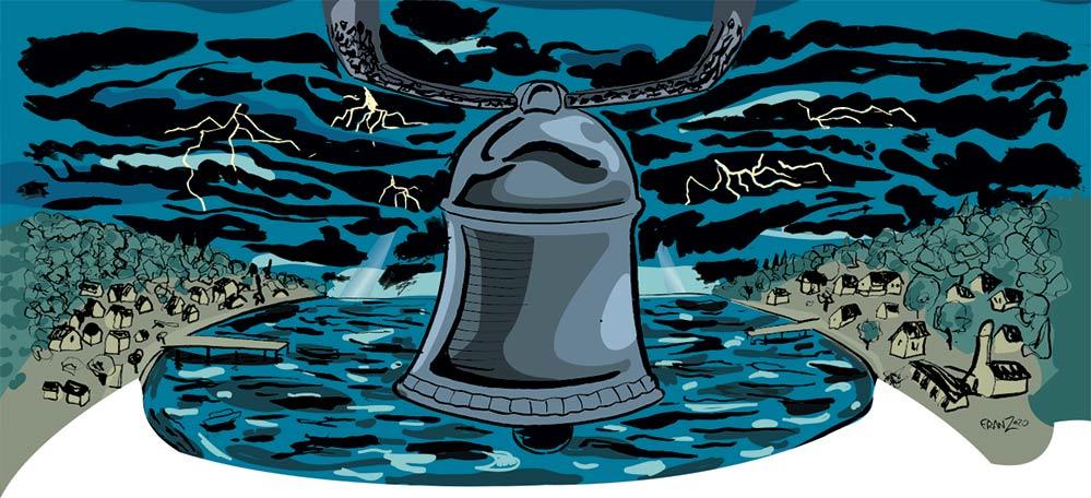 La Campana di Turro - Illustrazione di Andrea Franzosi franZroom.net