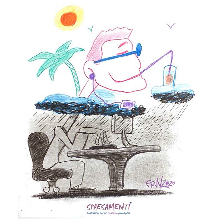 Vacation State Of Mind - Vignette Spaesate - Andrea Franzosi, franZroom.net